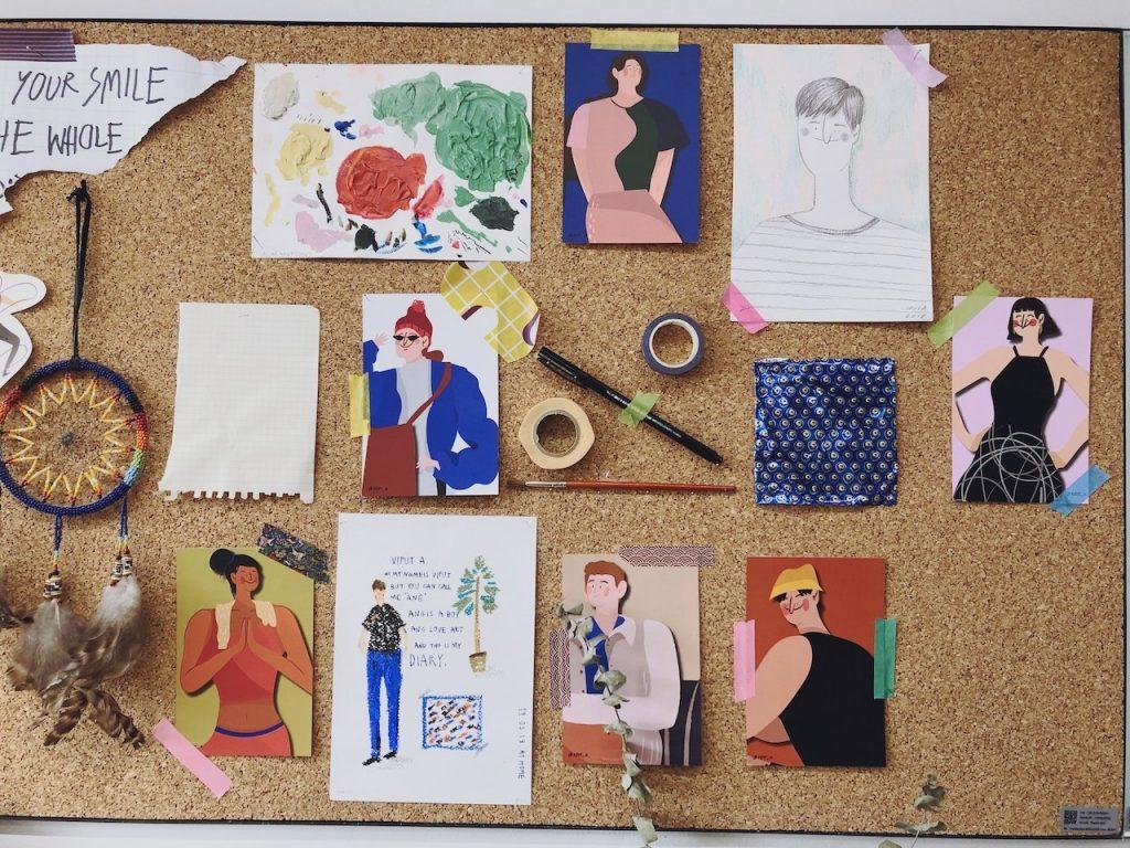 16 นักวาดภาพประกอบไทยที่ทำให้โลกกลมๆ นี้สดใสด้วยลายเส้นและสีสัน