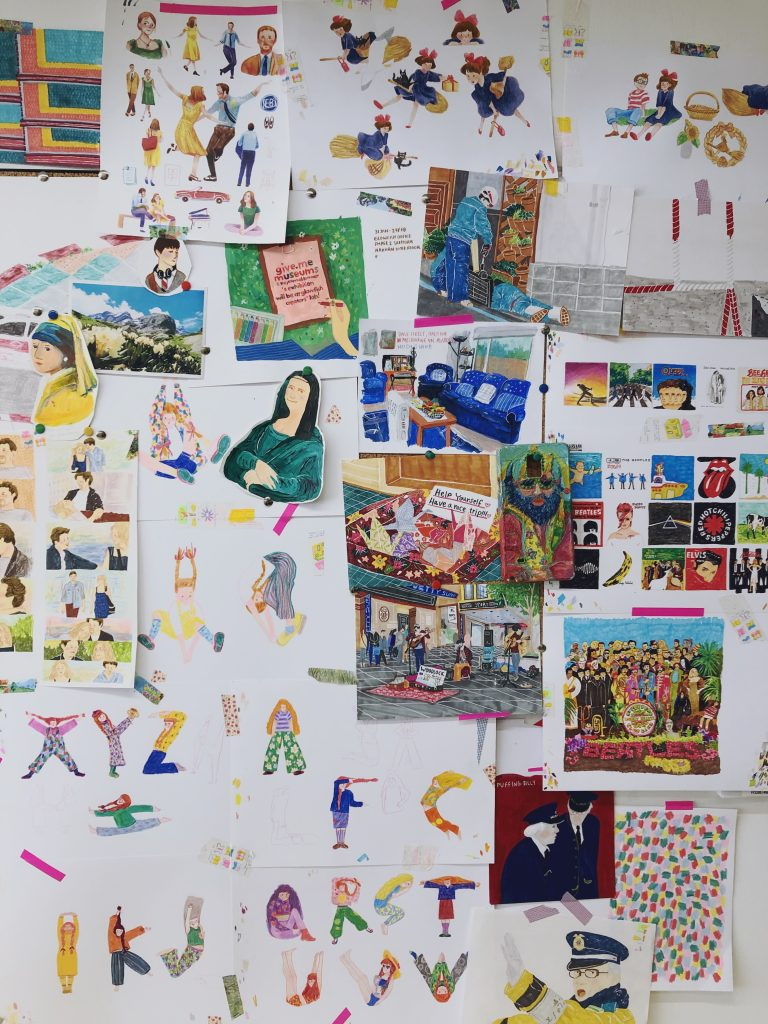 Give Me Museum-16 นักวาดภาพประกอบไทยที่ทำให้โลกกลม ๆ นี้สดใสด้วยลายเส้นและสีสัน
