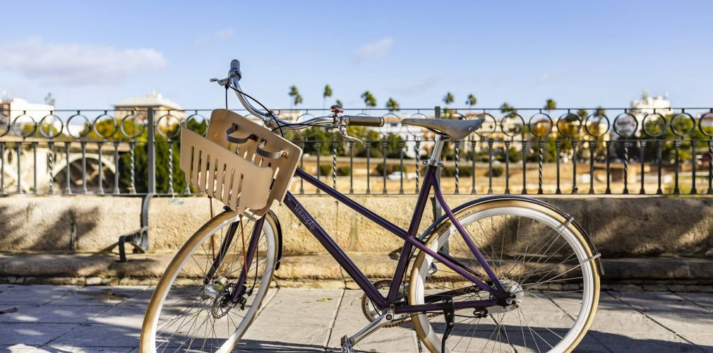 3. A stylish bicycle made from recycled aluminium coffee capsules by Nespresso and Vélosophy